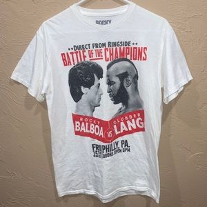Rocky Balboa vs Clubber Lang 2014 Shirt